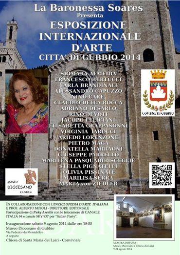 Grande Successo di International Art Baronessa Soares  Città di Gubbio: