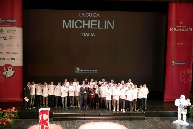 IL GUSTO D'ITALIA NELLE STELLE DELLA 63° GUIDA MICHELIN 2018